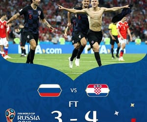 Croatia, football, and russia image