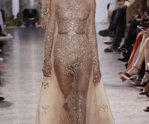 designer, dress, and girl image