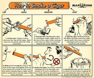 cigars, smoking, and smoker image