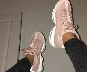 shoes, tumblr, and pink image