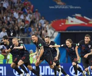 Croatia, football, and futbol image