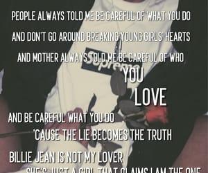 Billie Jean, Lyrics, and music image