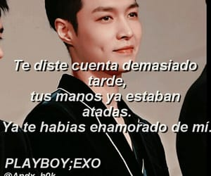 edit, exo, and frases image