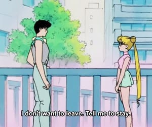 anime, sailor moon, and quotes image