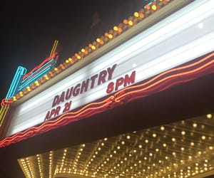 bands, concert, and daughtry image