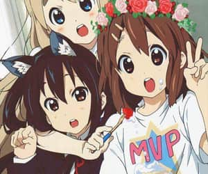 k-on!, htt, and ho-kago tea time image