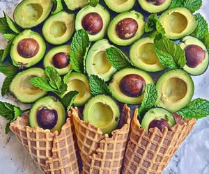avocado, food, and biscuit image