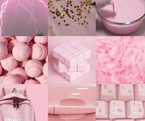 aesthetic, baby pink, and color image