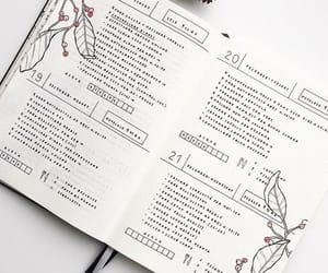 bullet journal, inspiration, and bujo image