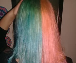 colorfull, cool, and hairstyle image