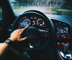 watch, car, and audi image