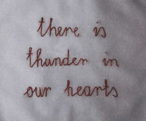 quotes, thunder, and aesthetic image