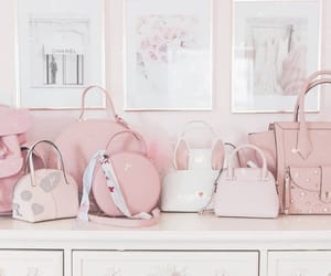 pastel, purses, and pink purse image