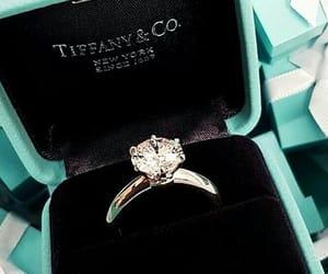 diamond, ring, and tiffany image