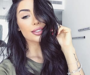 arab, beauty, and brunette image