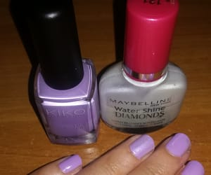 Maybelline, nail art, and nail polish image