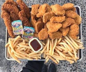 Chicken, food porn, and cravings image