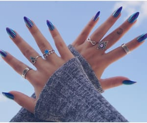 nails, pullover, and ring image