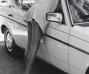 summer, car, and vintage image