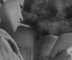 book and smoke image