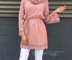 dress, hijabista, and hijab image
