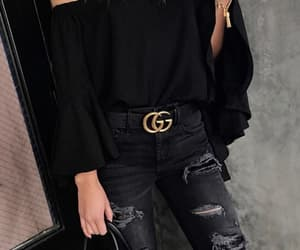 black, style, and gucci image