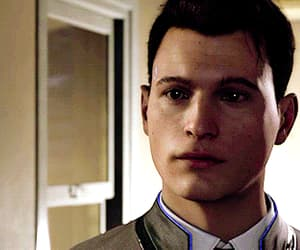 gif, Connor, and detroit become human image