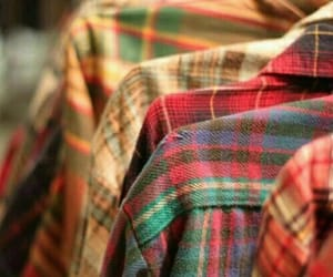 cozy, flannel, and plaid shirt image