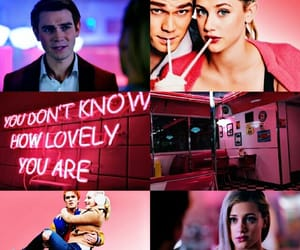 Archie, Betty, and pink image