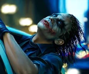joker, batman, and heath ledger image