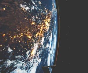 espacio, galaxia, and universo image