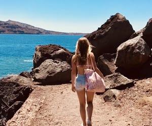 adventure, girl, and sea image