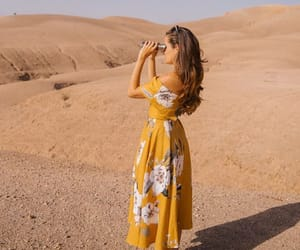 dress, desert, and style image