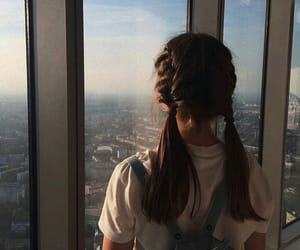 tumblr, girl, and hairstyle image