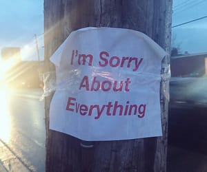 life and sorry image