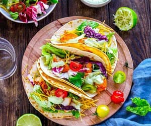 dinner, tacos, and travel image