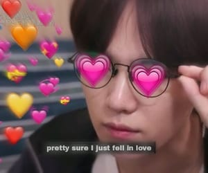 meme, bts, and heart image