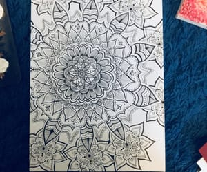 flowers, mandalas, and aesthetically image