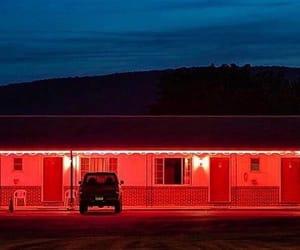 car, dark, and lights image