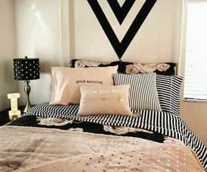 bed, girls, and room decoration image
