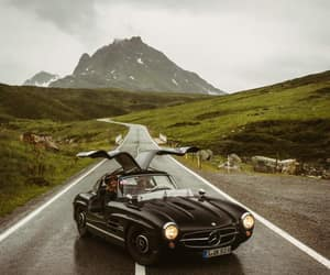 classic, mercedes benz, and roadster image