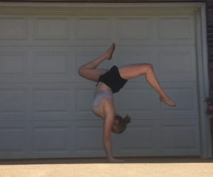 dance, handstand, and inspiration image