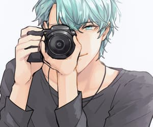 mystic messenger, handsome, and v image