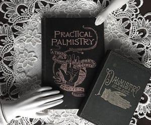 book, goth, and magic image