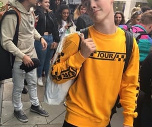 yellow, zach herron, and zach image