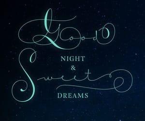 good night and sweet dreams image