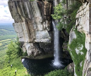 photography, waterfall, and chattanooga image
