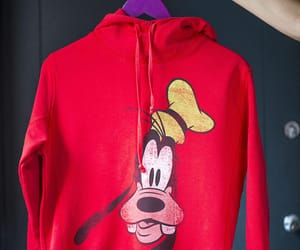 etsy, red hoodie, and 90s clothing tee image