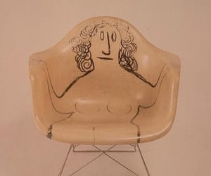chair, art, and saul steinberg image