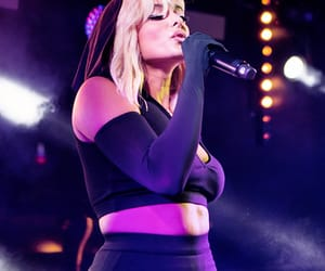 art, beauty, and bebe rexha image